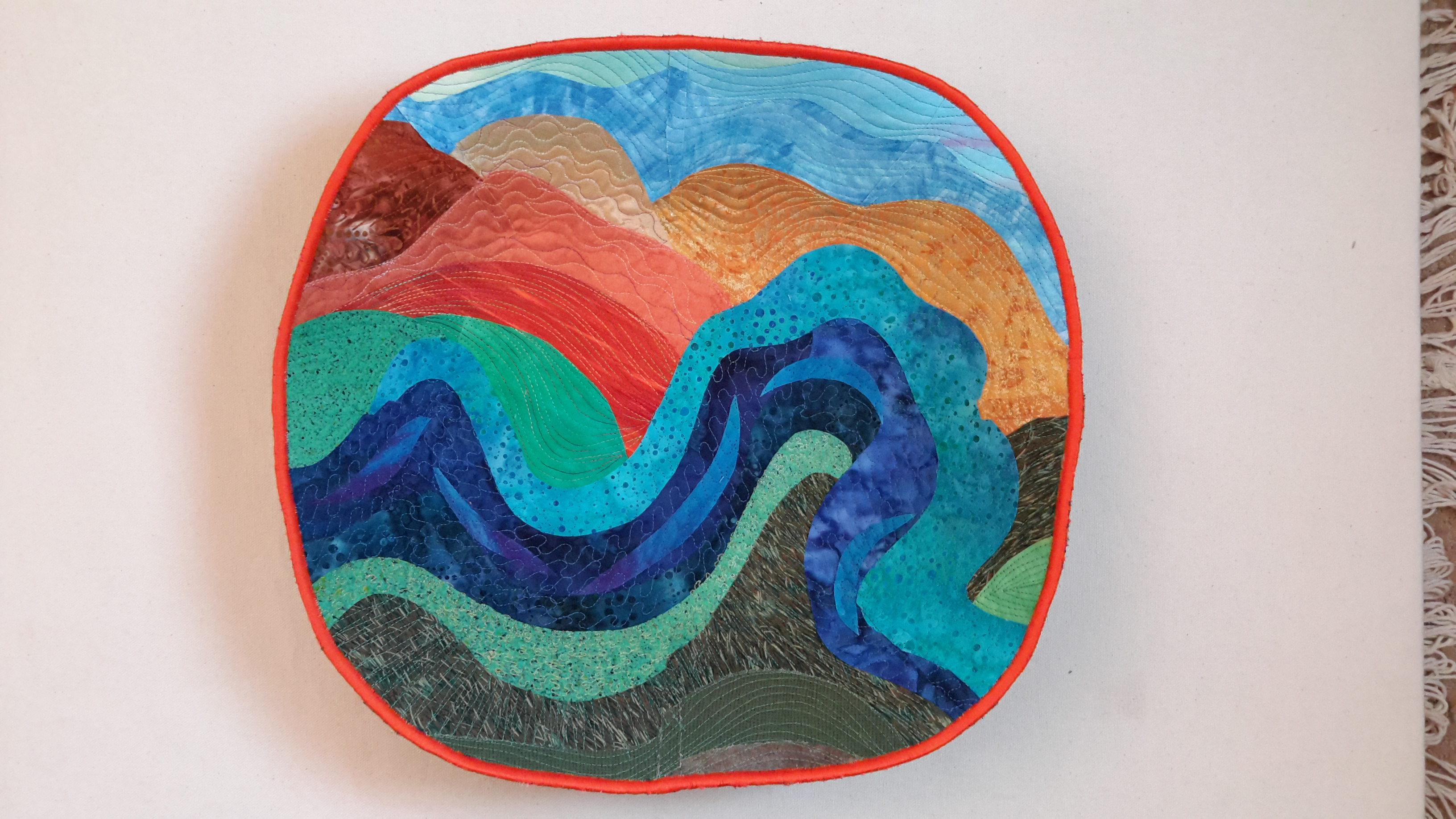 Riverbend - Quilted Bowl