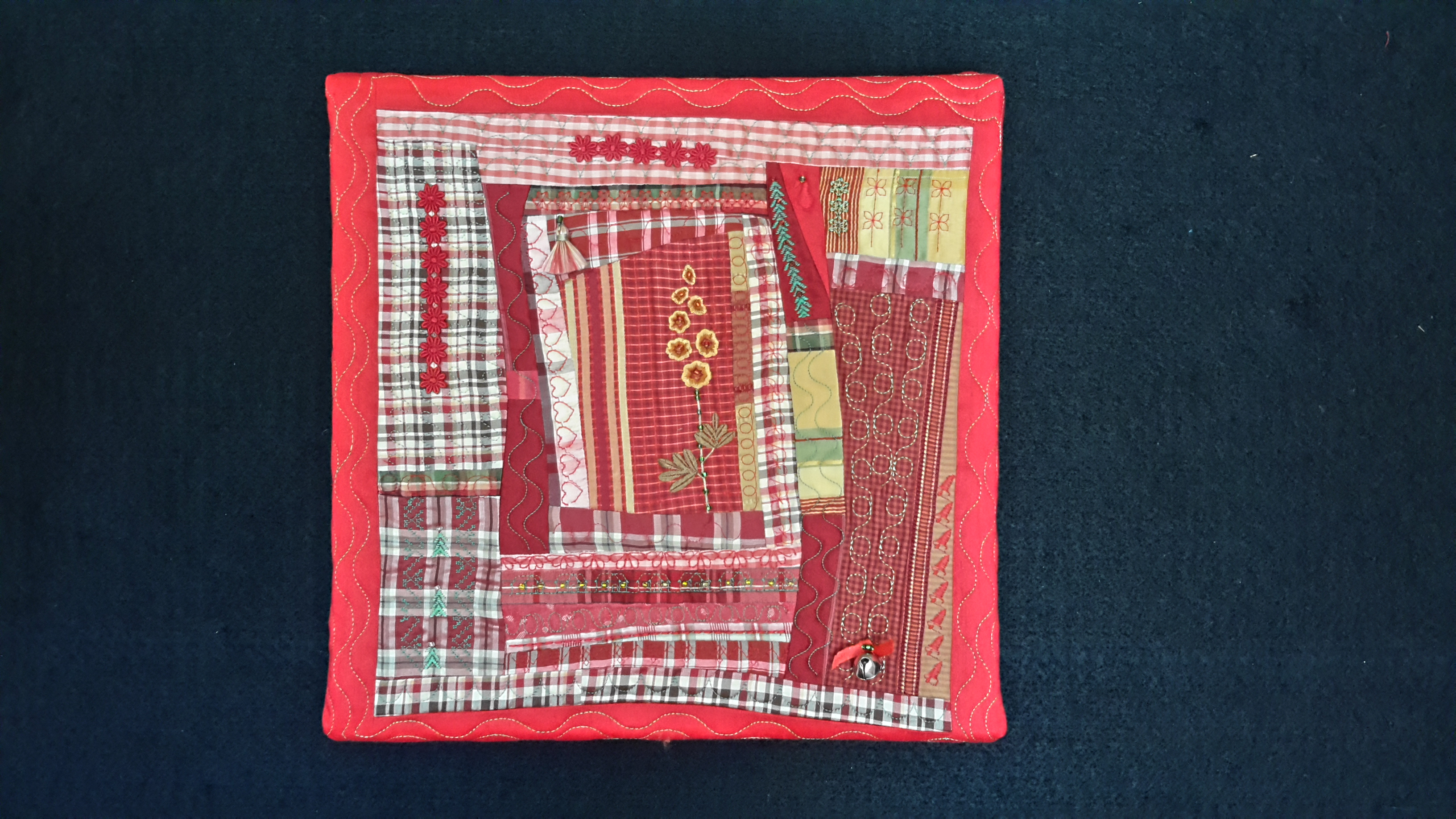 Christmas Silk Plaid