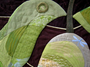 Pear Leaf close up